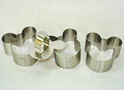 Форма металическая для формировки Микки из 3 ед.