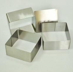 Форма металическая для формировки Квадрат из 3 ед.