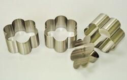 Форма металева для формування Квітка з 3 од.