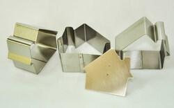 Форма металева для формування Будиночок з 3 од.