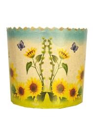 Форма пасхальная бумажная d130 Цветы №4
