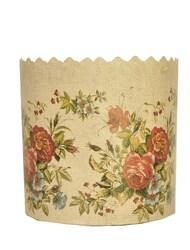 Форма пасхальная бумажная d130 Цветы №1