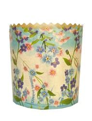 Форма пасхальная бумажная d110 Цветы №2