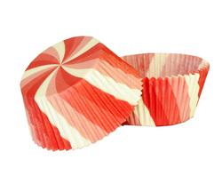 Форма для кексов Вертушка 50х30 50шт.(красная)