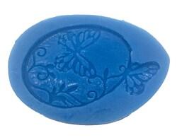 Силиконовый молд Пасхальное яйцо с бабочками