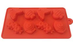 Форма силиконовая на планшетке Насекомые 8 ед