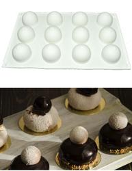 Форма для выпечки евродесертов Трюфель из 12 ед