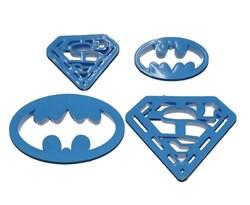 Набор вырубок Супергерои из 4 ед.