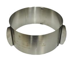 Форма металева розсувна коло №3 д16-30 см висота 10 см