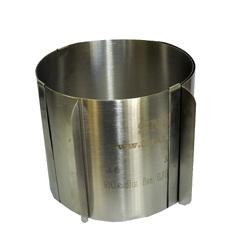 Форма металлическая раздвижная круг №4 д16-30 см высота 15 см