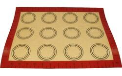 Килимок силіконовий універсальний 40x30 см з колами 4.5 см, 5.5 см, 6.5см