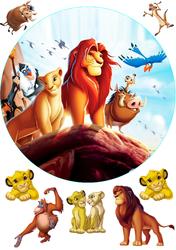 Картинка з мультика Король Лев №1