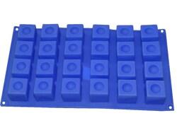 Форма силіконова на планшетці Квадратики 24 од.
