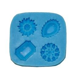 Молд силиконовый Драгоценные камни малые