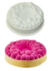 Форма силіконова для євродесертів Kit Bubble Crown