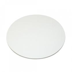 Подложка под торт круглая D18 однослойная белая
