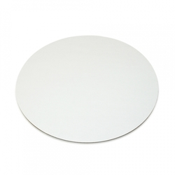 Подложка под торт круглая D22 однослойная белая