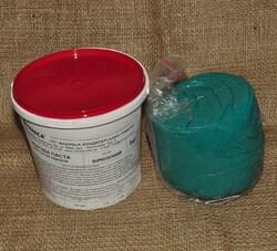Мастика кондитерская Украса бирюзовая 1 кг