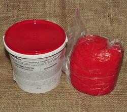 Мастика кондитерская Украса кораловая 1 кг
