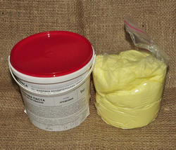 Мастика кондитерская Украса кремовая 1 кг
