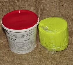 Мастика кондитерская Украса лимонная 1 кг