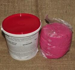 Мастика кондитерська Украса малинова 1 кг