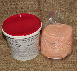 Мастика кондитерська Украса персикова 1 кг