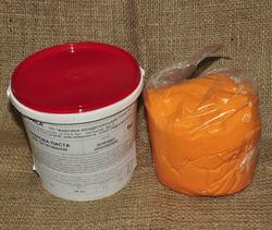 Мастика кондитерская Украса ярко-оранжевая 1 кг