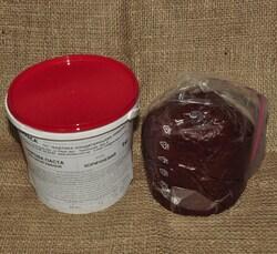 Мастика кондитерская Украса коричневая 1 кг