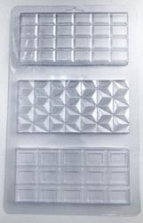 Молд пластиковий Плитка шоколаду №3