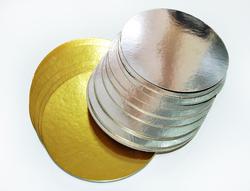Підкладка кругла D12 золото/срібло