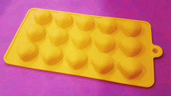 Форма силиконовая на планшетке Морской Ракушки №2