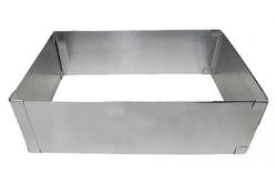 Форма раздвижная прямоугольная  высота 8,5 см