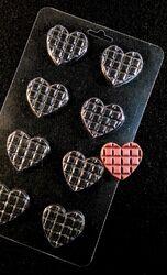 Молд пластиковый Шоколадное сердце