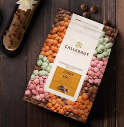 """Шоколад молочный с медом """"Callebaut Honey """" 33,2 % - 1кг фасовка (CHF-Q1HONEY-E4-U70)"""