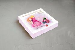 """Коробка для конфет 185х185х30 Новогодняя №5 """"Звездочка"""""""