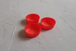 Форма для конфет красная 30х16 50шт.