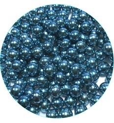 Кульки Блакитні 8мм. - 100 г