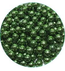 Шарики Зеленые 8мм. - 50 г