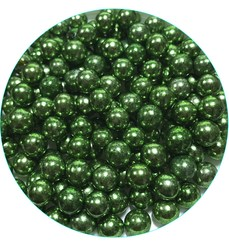 Кульки Зелені 8мм. - 100 г