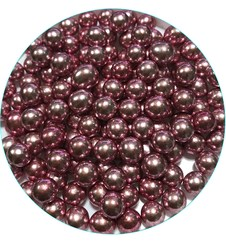 Кульки Рожеві 8мм.-100 г