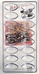 Полікарбонатна форма для цукерок Мигдаль великий 16 шт