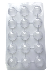 Молд пластиковый Конфета-полусфера