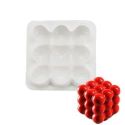 Форма силиконовая для евродесертов Spheres