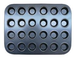 Форма для выпечки на 24 кекса мини тефлон
