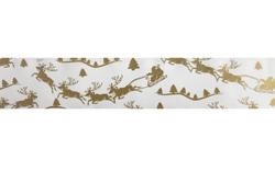 Бордюрная лента с рисунком,ширина 5  см,длина 1 м (Зимняя сказка)