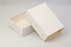 Коробка для макаронс 115х155х50 мм Біла (на 12 шт)