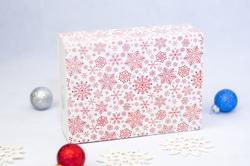 Коробка для Макаронс 115х155х50 мм  Снежинка (на 12 шт)