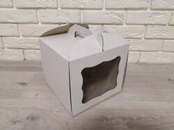 Коробка для торта 230х230х210 с окном