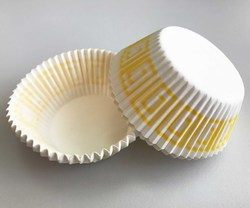 Форма для кексів Греція 50х30 50шт. (Жовта)